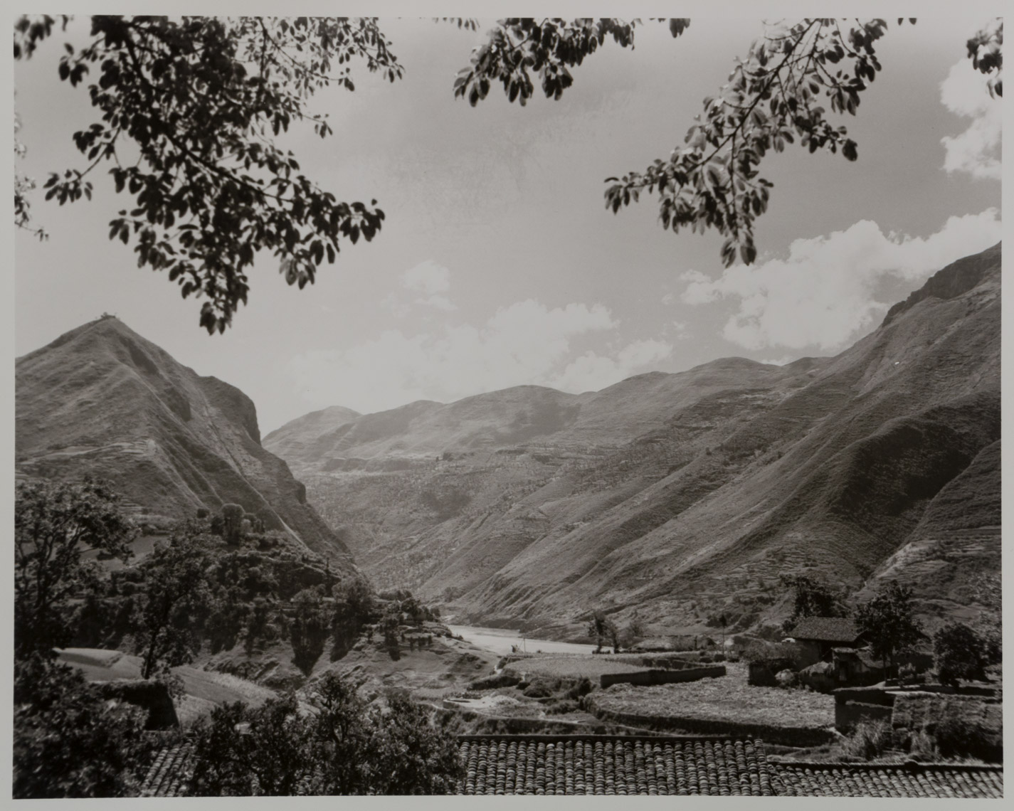 China, Three Gorges region, 1944, photograph by Cedric M. Poland, print located at the National Archives at Denver